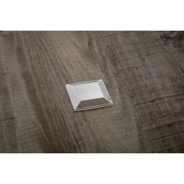 01402 Καπάκι για σφηνάκι τετράπλευρο 70ml Ατομικά μπώλ  tsepaspack.gr