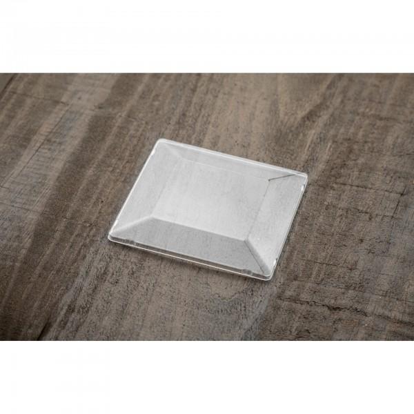 01401 Καπάκι για μπώλ τετράγωνο 200ml Ατομικά μπώλ  tsepaspack.gr