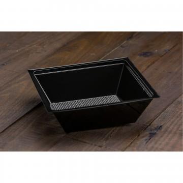 01576 Μπώλ σαλάτας τετράπλευρο 750ml Μαύρο  Μπώλ σαλάτας tsepaspack.gr