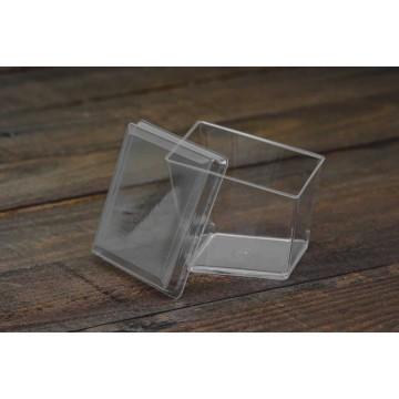 01609 Καπάκι για μπώλ τετράπλευρο ασύμμετρο 200ml Ατομικά μπώλ  tsepaspack.gr